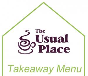 The Usual Place Takeaway Menu